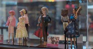 Exposición de la muñeca Barbie en Madrid.