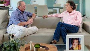 Bertín Osborne y 'El Puma' en 'Mi casa es la tuya'.