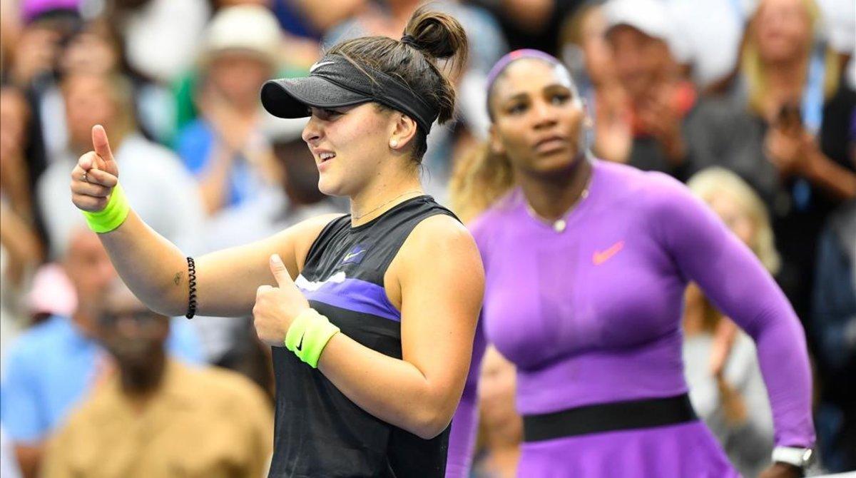 Bianca Andreescu gana a Serena Williams