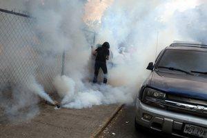 Hasta ahora se desconoce quién liberó los gases lacrimógenos.