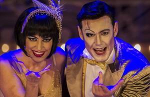 Ivan Labanda y Elena Gadel en Cabaret, el espectáculo más visto de la temporada 2017-18.