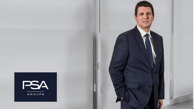 Christophe Mandon, director general comercial PSA España y Portugal.