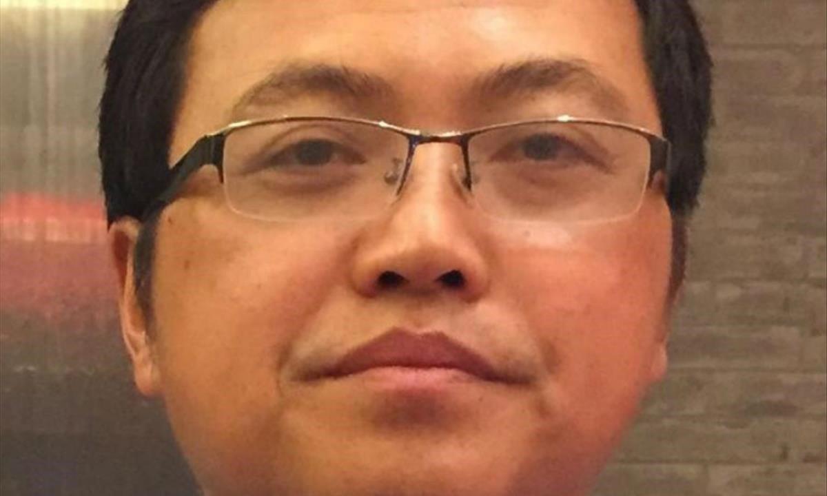El ciberdisidente chino Liu Felyue.