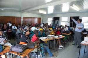Una escuela sudafricana.