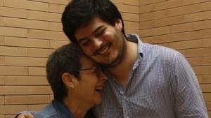 Carme y Mauri, participantesdel proyecto'Viure i conviure'.