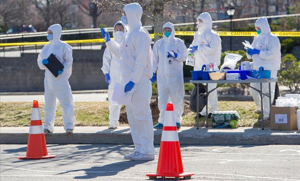 EEUU aprueba los test rápidos de coronavirus de una farmacéutica del país