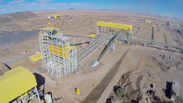 Copisa finaliza la construcción de una planta de enriquecimiento de hierro en Mauritania
