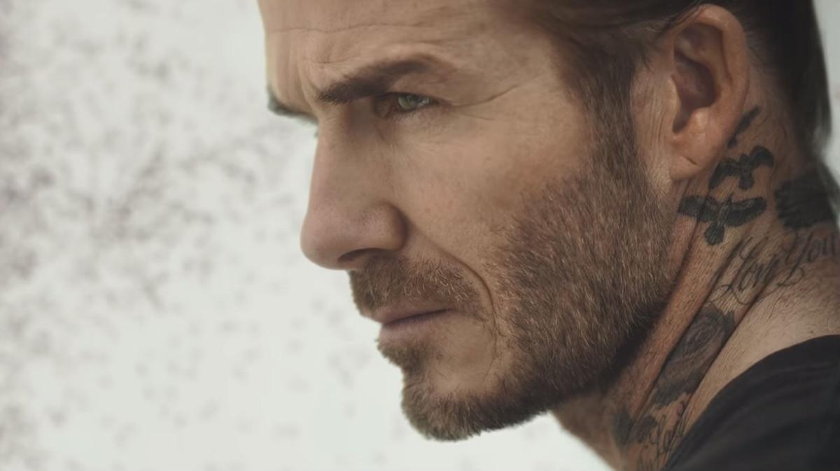 David Beckham, en una captura del espot de la campaña contra la malaria.