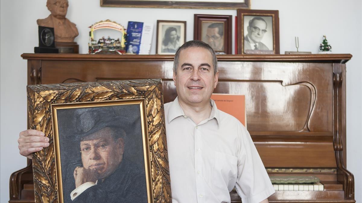 David Craven-Bartle, bisnieto y nieto de Joasn Lamote de Grignon y Ricard Lamote de Grignon.