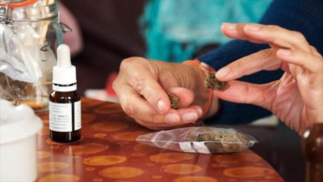 DOBLE ARMA. Una imagen del reportaje Marihuana, entre el verí i el fàrmac, de Sense ficció.
