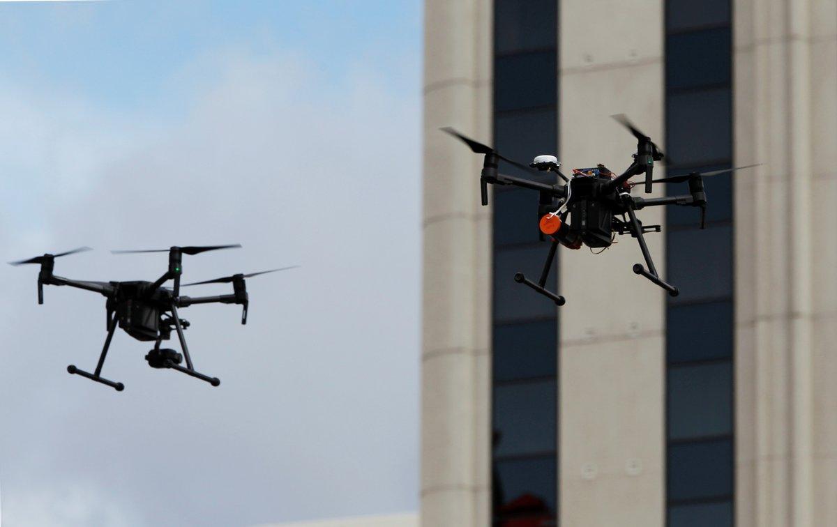 Los drones son el futuro en logística y movilidad