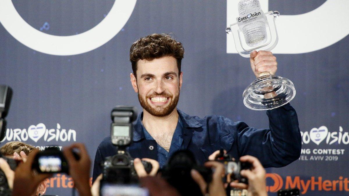 Duncan Laurence, ganador de Eurovisión 2019.