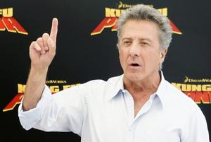 Dustin Hoffman en la presentació de la película Kung Fu Panda.