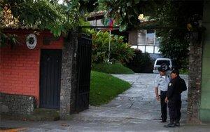 La embajada de Venezuela en El Salvador.