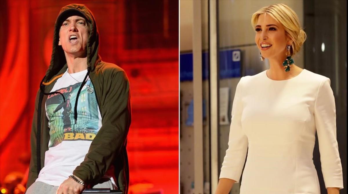 Eminem e Ivanka Trump.