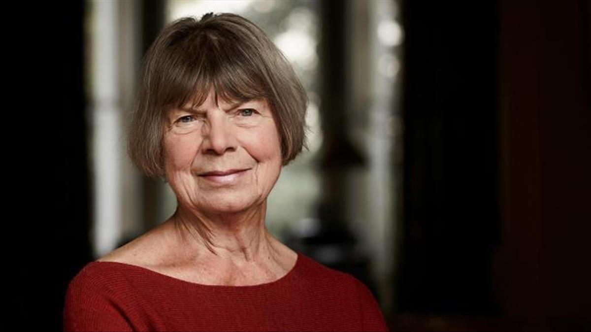 La escritora británica Margaret Drabble.