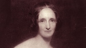 La escritora británica Mary W. Shelley.