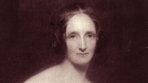 La escritora británica Mary W. Shelley.