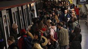 Estación de metro de Espanya.