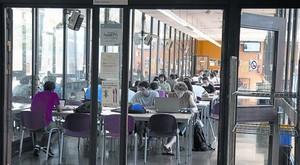 Estudiantes de Ingeniería en la Universitat Politècnica de Catalunya.