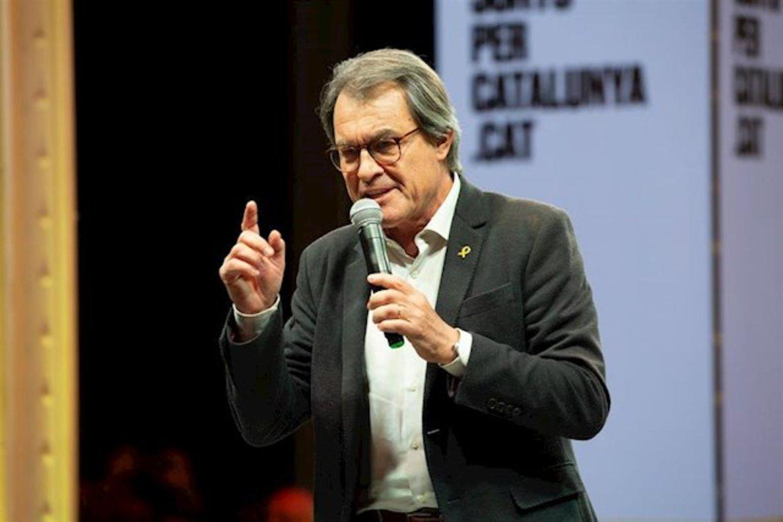 El expresidente de la Generalitar, Artur Mas.