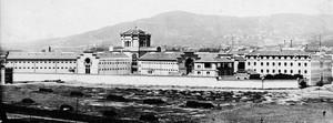 La prisión Modelo de Barcelona, el día de la inauguración, el 9 de junio de 1904.