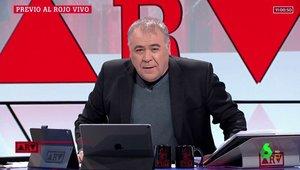 Ferreras vuelve tras su baja para celebrar los 2.000 programas de 'Al rojo vivo'