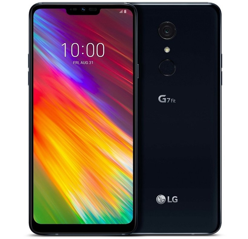 Smartphone LG G7 Fit.