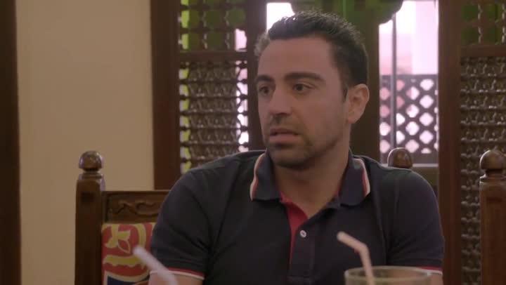 """Xavi: """"Estoy muy a favor del derecho a decidir"""""""