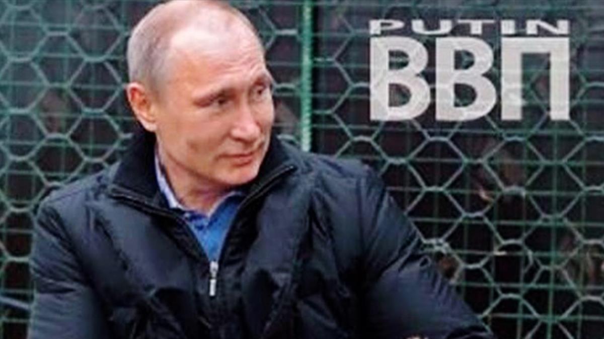 Vladimir Putin, en la portada del calendario.