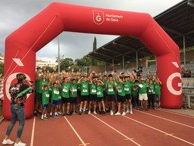 Més de 1.000 corredors en la primera edició de l'AECC Gavà en Marxa Contra el Càncer