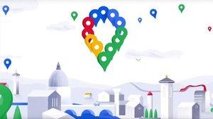 El nuevo logo de Google Maps estará formado por los colores rojo, azul, verde y amarillo, que caracterizan la marca.