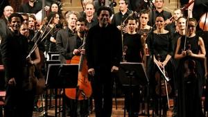 Gustavo Dudamel, en el Palau de la Música