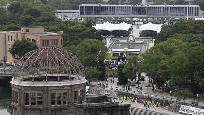 Hiroshima commemora el 75è aniversari de l'atac nuclear reclamant l'abolició dels arsenals