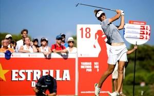 La holandesa Van Damm, campeona en Sitges, en la parte final de su recorrido