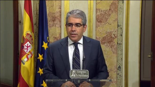 El portavoz de CDC califica de nuevo trío de las Azores a PP-Ciudadanos-PSOE