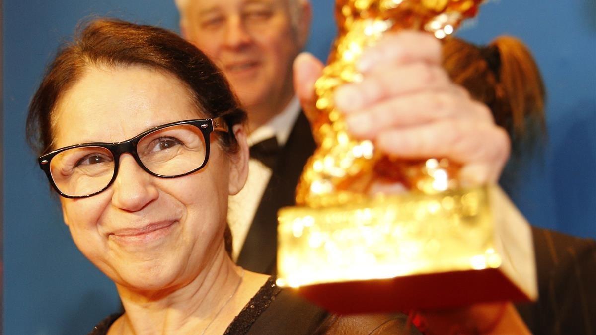 Ildikó Enyedi, con el León de Oro conquistado en Berlín por su película En cuerpo y alma
