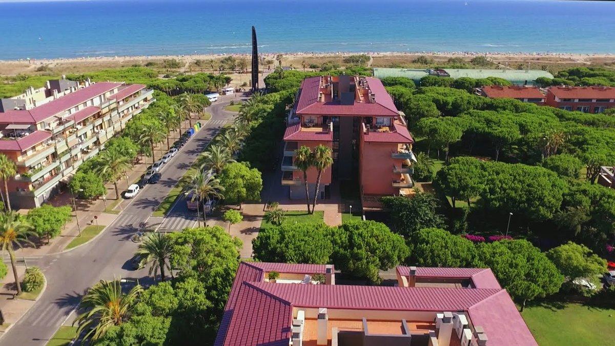 Imagen aérea del barrio de Gavà Mar