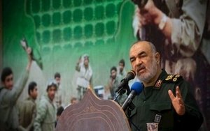El comandante de la Guardia Revolucionaria iraní, Hosein Salami.