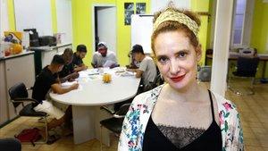 """Raquel Rojo: """"Els alumnes van començar a aprendre de veritat i va córrer la veu"""""""