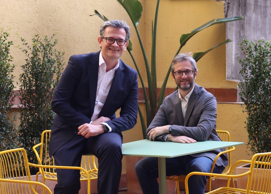 Jordi Ferrer y Borja Ormaechea, co-consejeros delegados de Zinklar.