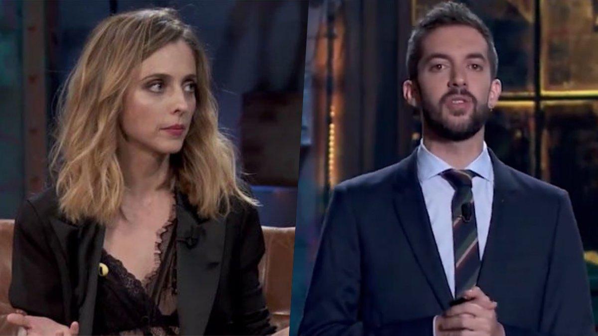 Leticia Dolera y David Broncano en 'La resistencia'.