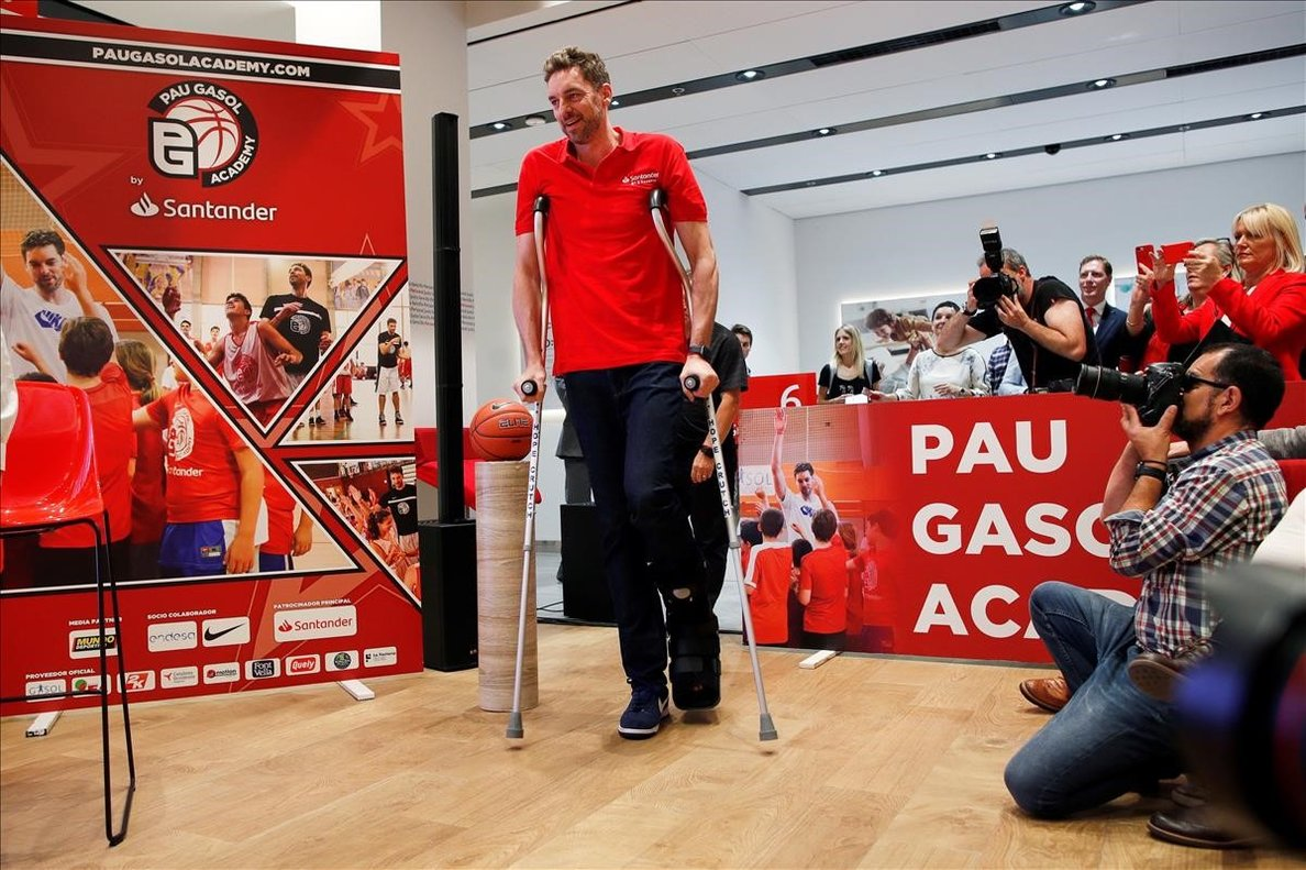 Pau Gasol fitxa pels Portland Trail Blazers