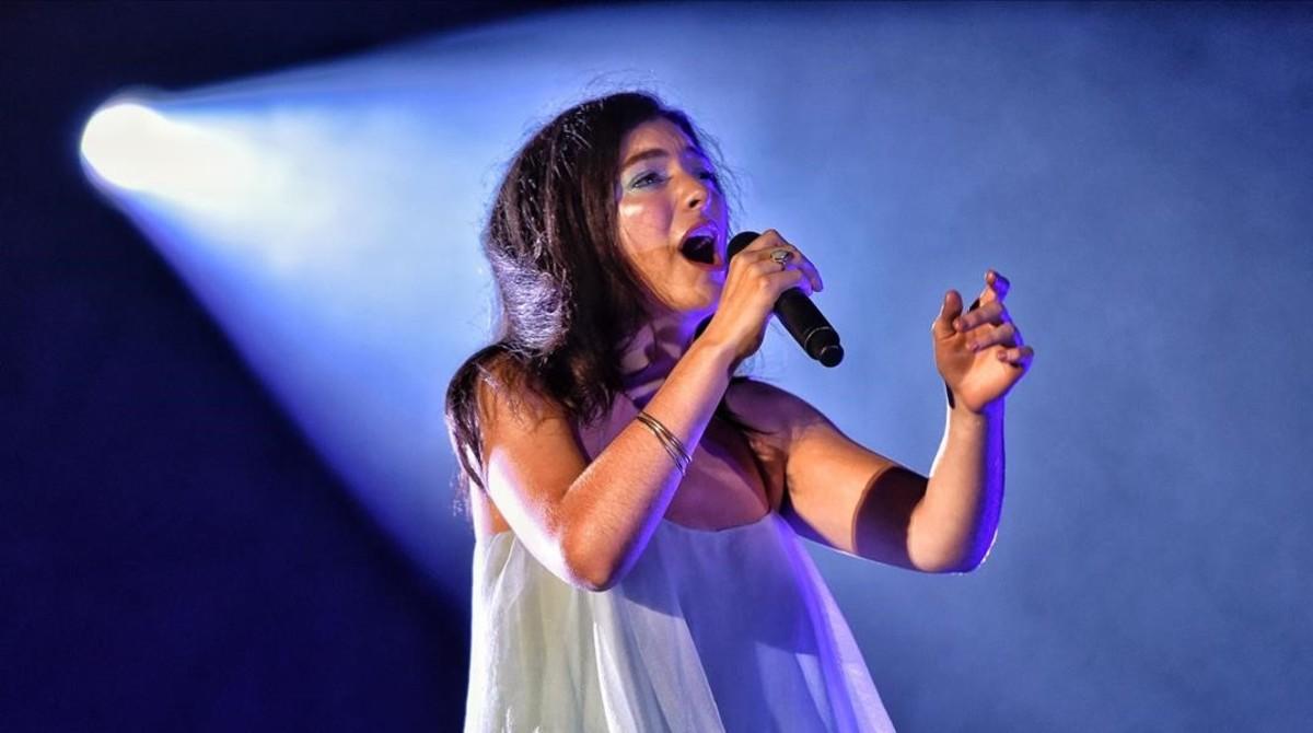 Lorde, en el Primavera Sound 2018