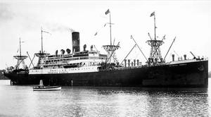 El Duchesa dAosta, el navío italiano robado.
