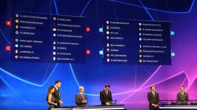 Tottenham, Inter y PSV, para empezar