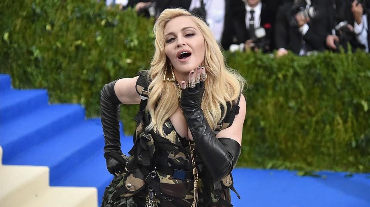 Una imagen de Madonna, en el Museo Metropolitan de Nueva York, en mayo del 2017.