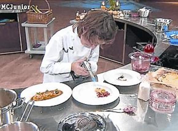 Manu, de 11 años, el ganador de 'Masterchef junior' (TVE-1).