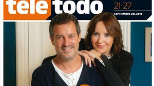 Portada de 'Teletodo' protagonizada por Marc Cartes y Àurea Márquez.