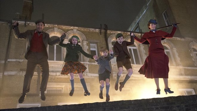 Escena de El regreso de Mary Poppins.
